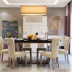 Interiors Mediterranean style dining room by Spaces Alive Mediterranean
