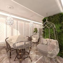 Дизайн дома в классическом стиле: Зимние сады в . Автор – Студия дизайна интерьера Руслана и Марии Грин, Классический