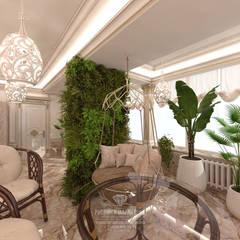 Дизайн дома в классическом стиле: Зимние сады в . Автор – Студия дизайна интерьера Руслана и Марии Грин,