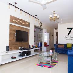 The 7th Corner - Interior Designer:  tarz Oturma Odası