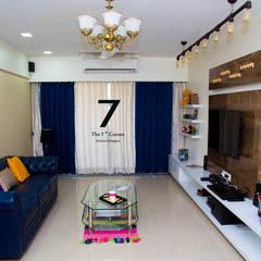 Salas de estilo asiático por The 7th Corner - Interior Designer