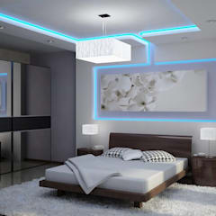 اتاق خواب by DHARMA INTERIOR PVT LTD™
