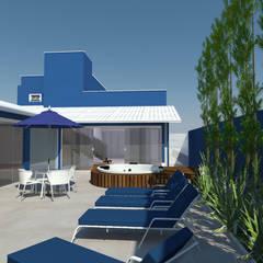 Projeto - Residencial: Spas  por Fernanda Quelhas Arquitetura