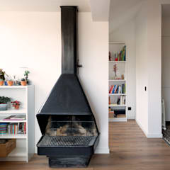 Livings de estilo  por CLAAAC interiorismo y diseño