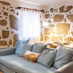 Sala de estar: Salas de estar  por IAM Interiores