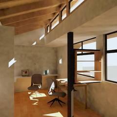 Taller Orfebre: Salas multimedias de estilo  por Lau Arquitectos,