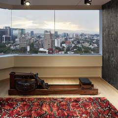 Harmony and Balance in the heart of Polanco, Mexico City. : Gimnasios de estilo moderno por Progressive Design Firm
