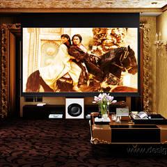 Electrónica de estilo  por студия Design3F