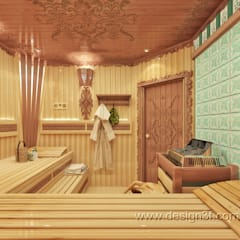 eclectic Spa by студия Design3F