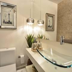 LAVABO: Banheiros  por Motta Viegas arquitetura + design