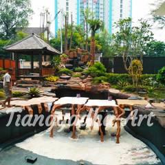 Vijver door Tukang Taman Surabaya - Tianggadha-art