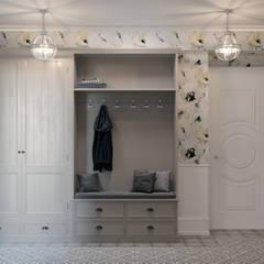 Квартира на Ломоносовском проспекте: Коридор и прихожая в . Автор – 3D GROUP, Классический