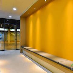 부산 휘트니스 클럽, 스피닝&요가 스튜디오 인테리어 - 노마드디자인: 노마드디자인 / Nomad design의  피트니스