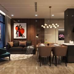 Salon de style  par ICON INTERIOR,
