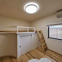 姫路市K邸: 空間工房 用舎行蔵 一級建築士事務所が手掛けた子供部屋です。