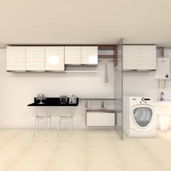 Muebles de cocinas de estilo  por Janaira Morr & Rachel Maia
