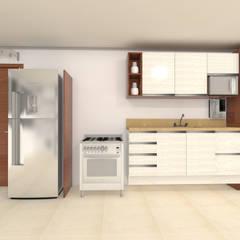 Armários de cozinha  por Janaira Morr & Rachel Maia