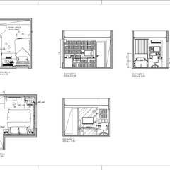 projeto: Quartos  por Janaira Morr & Rachel Maia