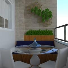 Design de Interiores - Residencial: Jardins de inverno modernos por Ortho Arquitetura
