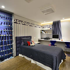 Boys Bedroom by CarolGomesArquitetura, Modern