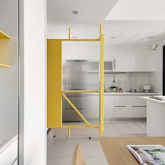 Cocinas de estilo  por 寓子設計,