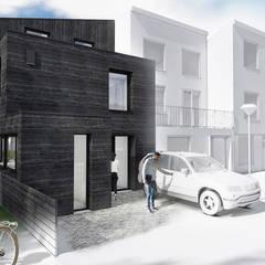 SCHAPENATJESDUIN KAVEL WONING | KIJKDUIN 2018:  Eengezinswoning door Studio Kustlijn Architecten