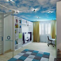 mediterrane Kinderkamer door Студия дизайна Татьяны Лазурной