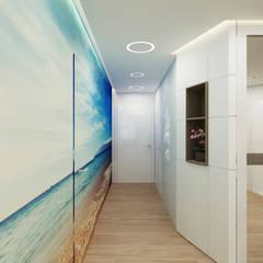 Koridor dan lorong oleh Студия дизайна Татьяны Лазурной, Mediteran