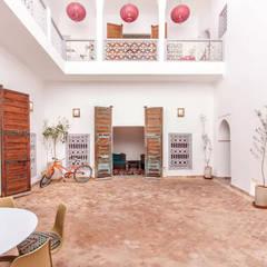 Riad Paris & Fahd em Marraquexe: Terraços  por Protega