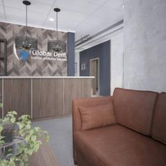 Современное офисное пространство: Офисные помещения в . Автор – Alt дизайн