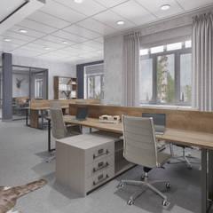 Современное офисное пространство: Офисы и магазины в . Автор – Alt дизайн