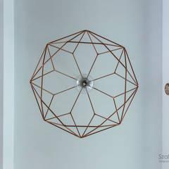 dom pod poznaniem_kw: styl , w kategorii Korytarz, przedpokój zaprojektowany przez Szalbierz Design
