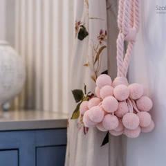 dom pod poznaniem_kw: styl , w kategorii Łazienka zaprojektowany przez Szalbierz Design