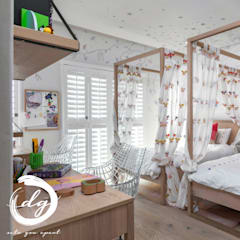 Using White As Base Color In This Gorgeous Kids Room :  Nursery/kid's room by Deborah Garth Interior Design