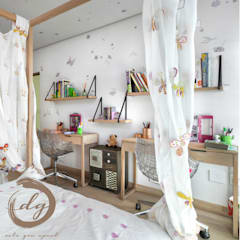 Quarto infantil colonial por Deborah Garth Interior Design International (Pty)Ltd Colonial Madeira Efeito de madeira
