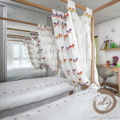 Dormitorios infantiles de estilo  por Deborah Garth Interior Design International (Pty)Ltd,