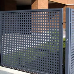 fences: Espacios comerciales de estilo  por Premium commercial remodeling