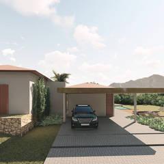Casa Recanto: Casas do campo e fazendas  por ARAMADO arquitetura+interiores