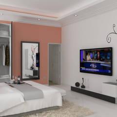Remodelación Habitación Residencial: Habitaciones de estilo  por A.BORNACELLI,