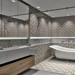 ห้องน้ำ by Renata Monteiro Arquitetura e Interiores