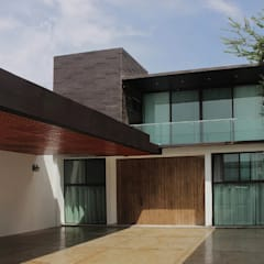 Casa Surcos: Casas unifamiliares de estilo  por Zona Arquitectura Más Ingeniería