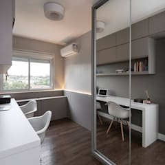 Oficinas de estilo  por Rabisco Arquitetura