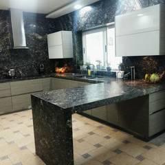 Cocina Completa: Muebles de cocinas de estilo  por Athalia cocinas y Carpinteria