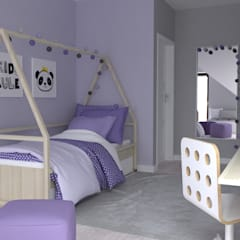 Girls Bedroom by Moble.