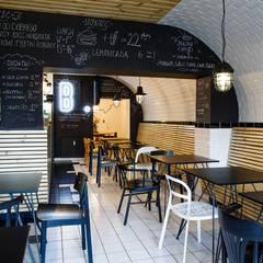 Burger bar BAHNHOF od Moble. Industrialny
