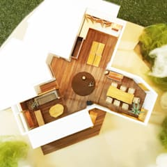 Ventanas de estilo  por 鎌倉住宅設計事務所 邸宅巣箱