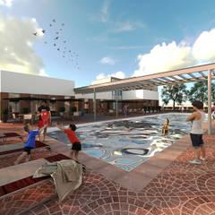 Saratoga: Salones para eventos de estilo  por MA Arquitectos