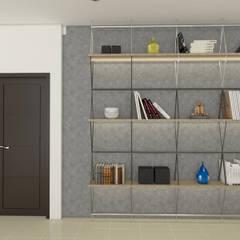 Residence Interiors: rustic Study/office by URBAIN DEZIN STUDIO