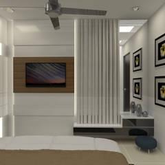 Corridor & hallway by URBAIN DEZIN STUDIO