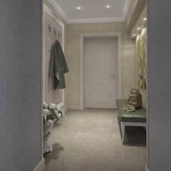 Pasillos y vestíbulos de estilo  por Alt дизайн
